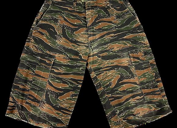 ArchiveTiger Camo Cargo Shorts