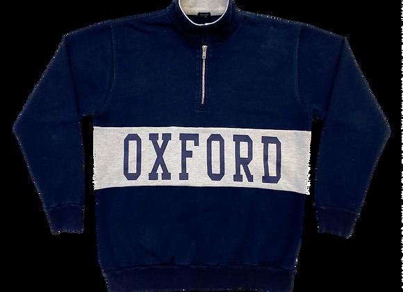 Oxford 3/4 Zip Pullover