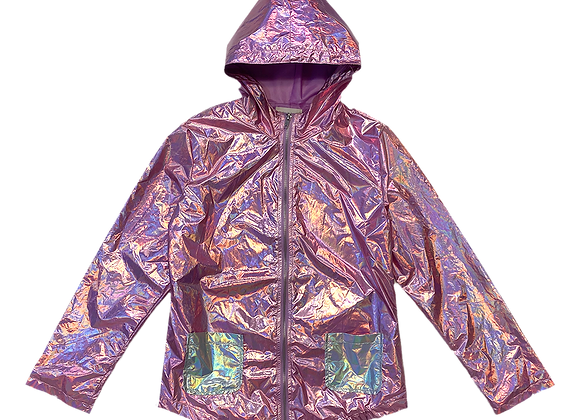 Archive Iridescent Rain Coat