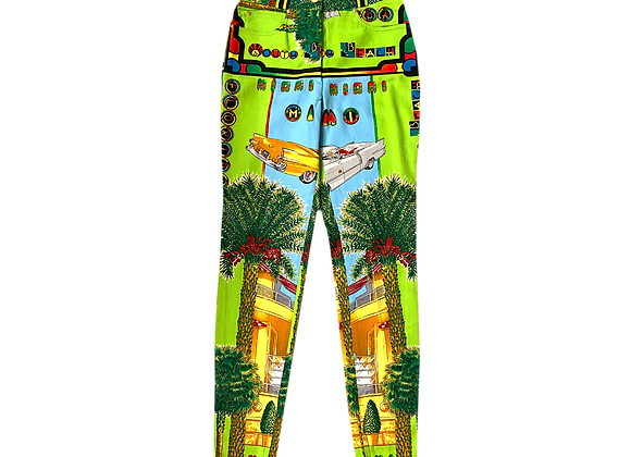 Archive 90's Gianni Versace Miami Collection Pants