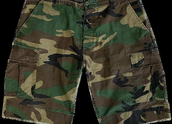 Archive Camo Shorts
