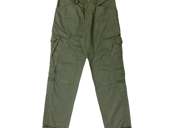 Olive Green Cargo Utility Pants