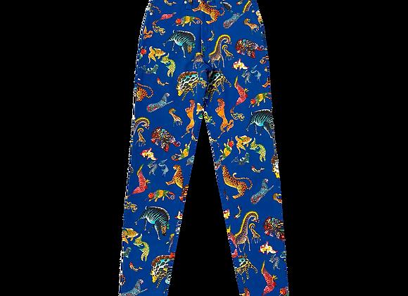 90's Gianni Versace Animal Kingdom Pants
