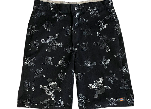 Fruition Archive All-Over Skulls Print Shorts