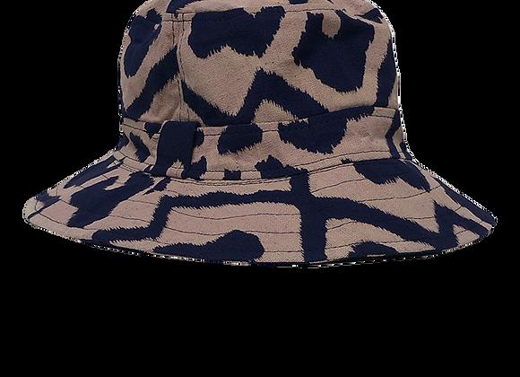 Indigo Camo Summer Bucket Hat
