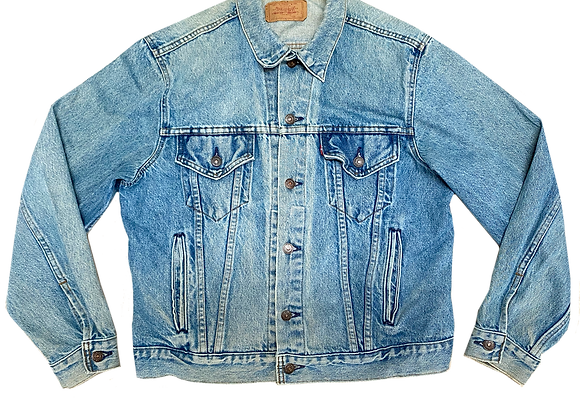 Levi's Distressed Trucker Jacket