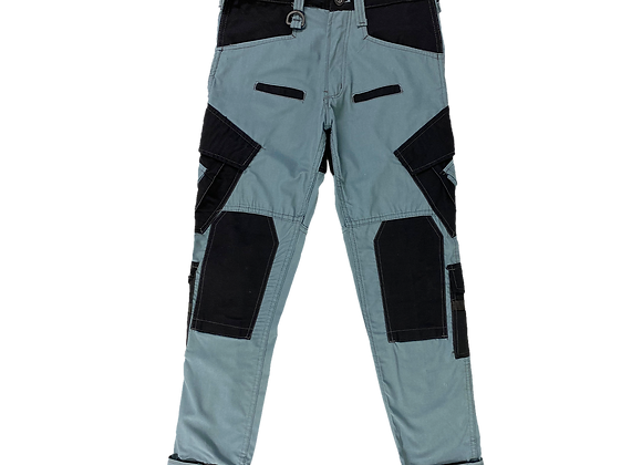 Archive Sky Blue Military Utility Cargo Pants