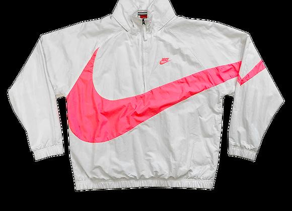 Nike Swoosh Half Zip Windbreaker Pullover