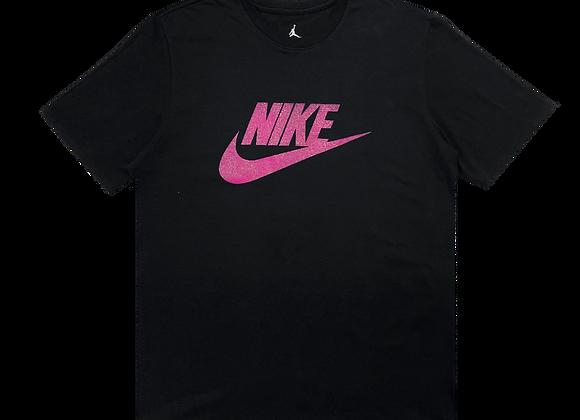 Air Jordan Nike Fuschia Logo Tee