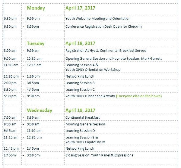 Event Agenda – Event Agenda