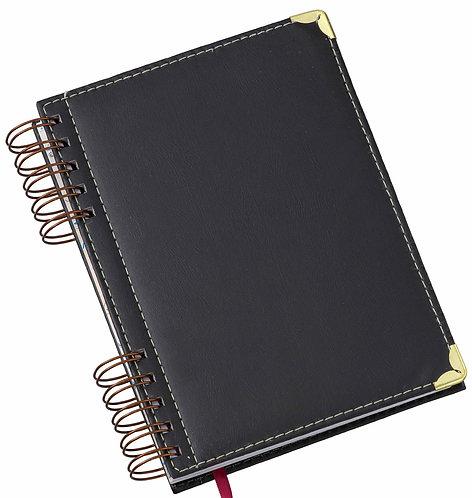 Agenda Wire-o Luxo Preta Ref. 283L