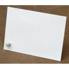Porta Retrato Aluminio para sublimação