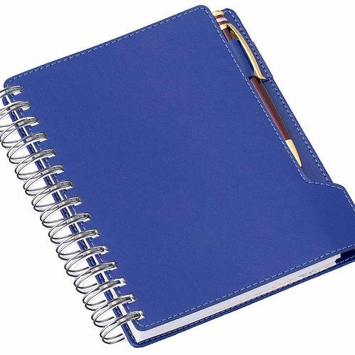 Agenda Wire-o de Mesa Azul Ref. 288L