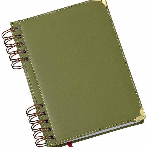 Agenda Wire-o Luxo Verde Ref. 290L