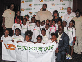 VERNON CAREY FOUNDATION HOSTS BACK TO SCHOOL EVENT