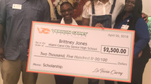 VERNON CAREY FOUNDATION PRESENTS THREE SCHOLARSHIPS TO MIAMI DADE HIGH SCHOOL SENIORS