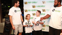 MIAMI DOLPHINS LONG SNAPPER JOHN DENNEY AND SONS WIN THE 2ND ANNUAL VERNON CAREY FOUNDATION FATHER A