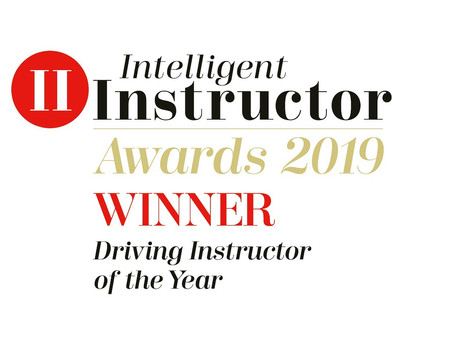 Our driving instructor Christian has been awarded;    'UK Driving Instructor of the Year 2019.'