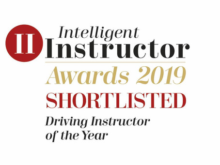 Driving Instructor of the Year 2019 Nominee !!!!