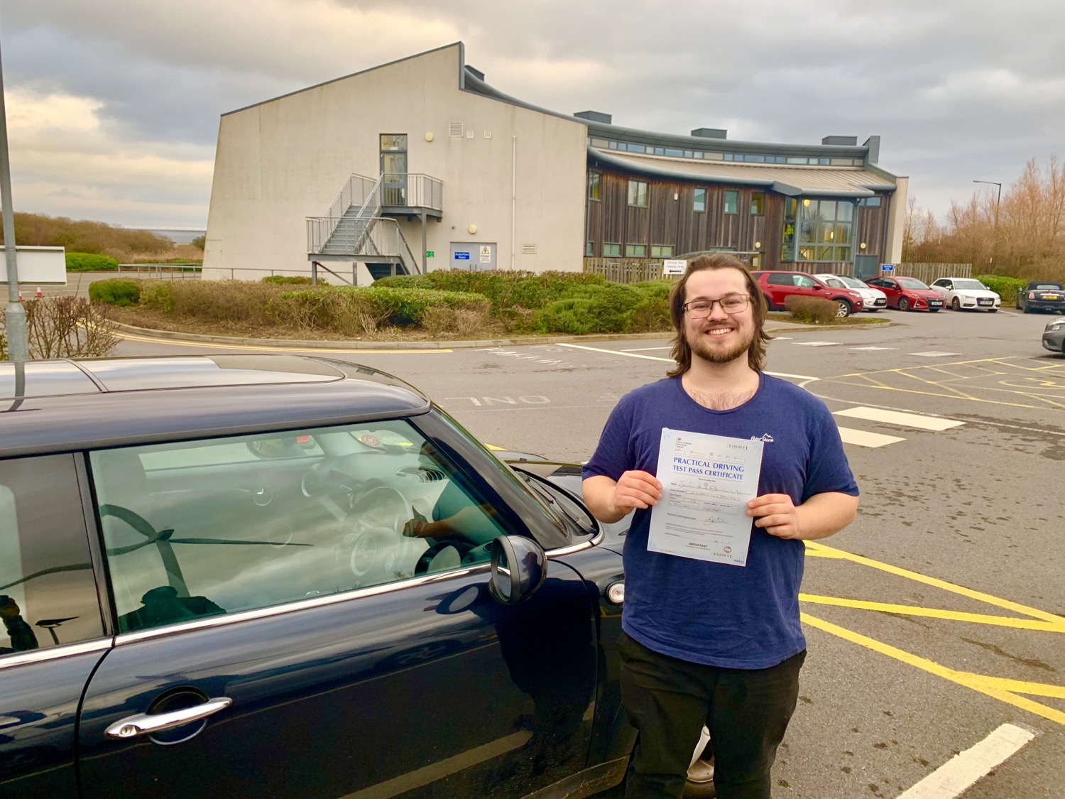 First Driving Test of 2020 - Congratulations Jamie on passing First Time with only 1 driving fault