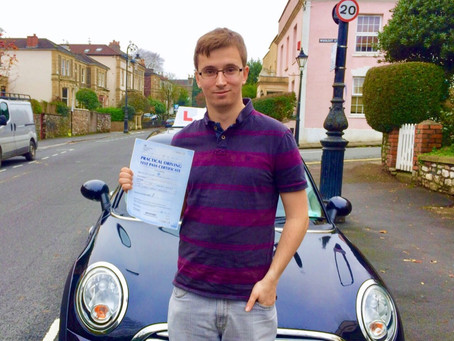 Congratulations Huw on passing with only 3 minor faults  https://twitter.com/2_driving/status/1091