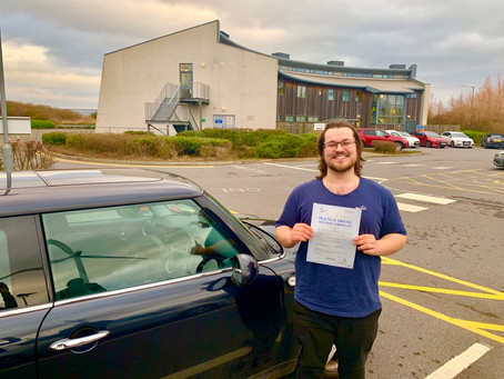 Congratulations Jamie on completing your Pass Plus Course. Well done!