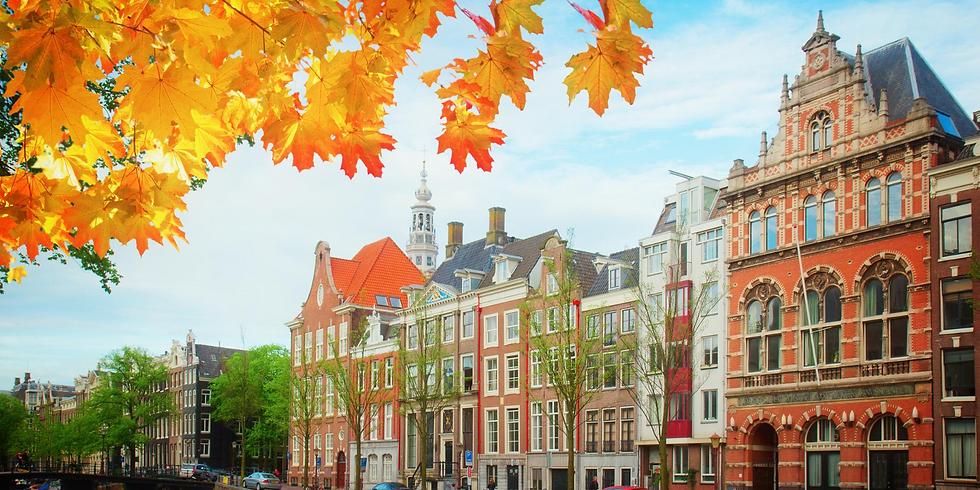 *満席*《日曜ギャラリーM&R》特別版『そうだ、アートを旅しよう』アムステルダム編
