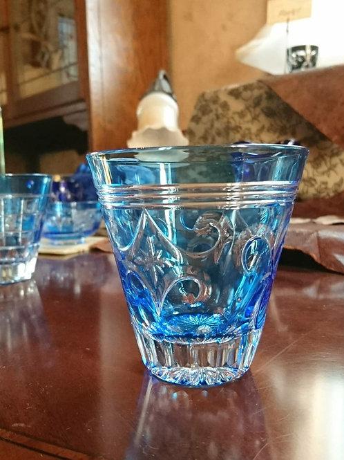 Glass/グラス Seto Kiriko Blue Tumbler/瀬戸切子青タンブラー