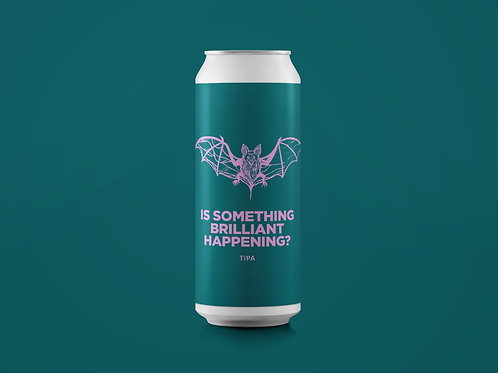 IS SOMETHING BRILLIANT HAPPENING? TIPA 10.5% *LERVIG COLLAB*