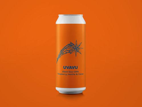 UVAVU Black Sour DIPA | Raspberry, Vanilla, Cacao 8%