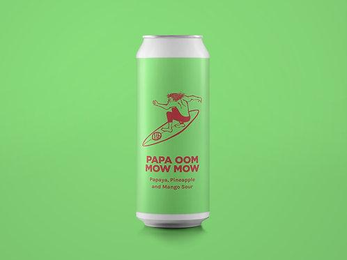 PAPA OOM MOW MOW Papaya, Pineapple and Mango Sour 6%