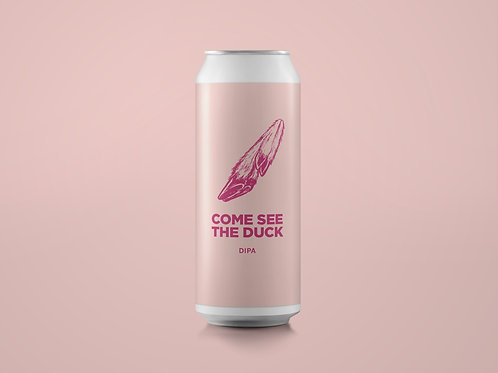 COME SEE THE DUCK DDH DIPA 8%