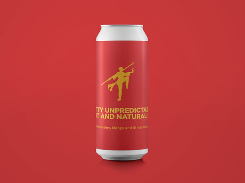 WITTY UNPREDICTABLE TALENT AND NATURAL GAME Clementine, Mango & Strata Sour 6.5%
