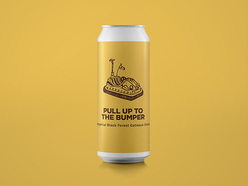 PULL UP TO THE BUMPER Imperial Black Forest Gateaux Stout 11%