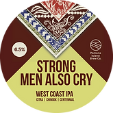 Strong Men Also Cry Keg