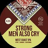 Strong Men Also Cry Keg