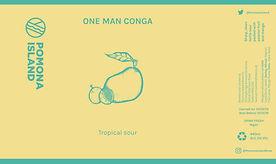 One Man Conga Can