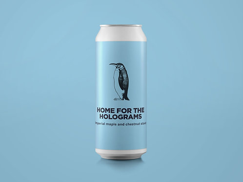 HOME FOR THE HOLOGRAMS Imperial Maple and Chestnut Stout 12%