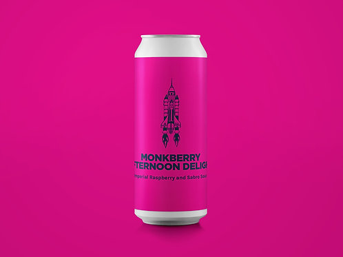 MONKBERRY AFTERNOON DELIGHT Imperial Raspberry and Sabro Sour 10%