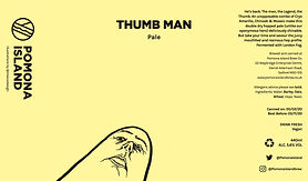 Thumb Man Can UPDATE 120 x 205mm Out FIN