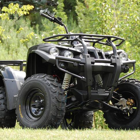Modern Moto! The DRR Stealth Electric ATV