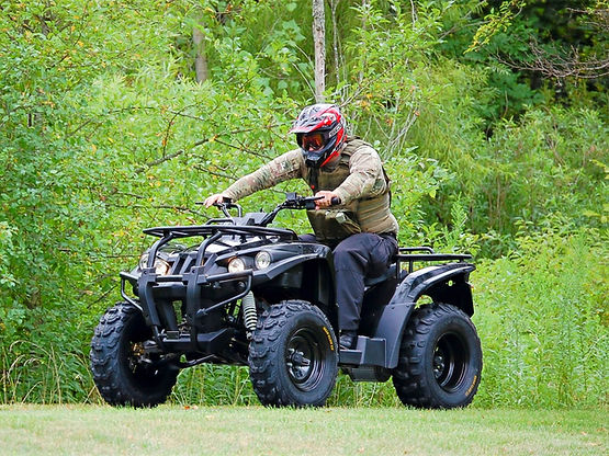 DRR USA's EV Stealth electric ATV governement defense and military use