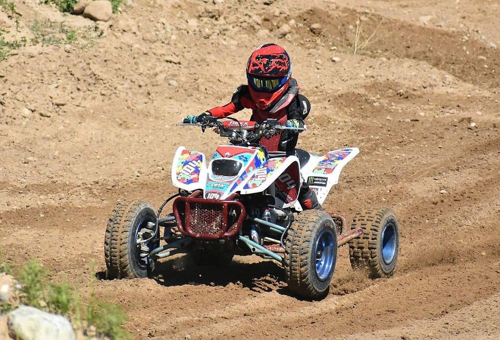 DRR USA Youth ATV Mini Quad Racing Four Wheeler