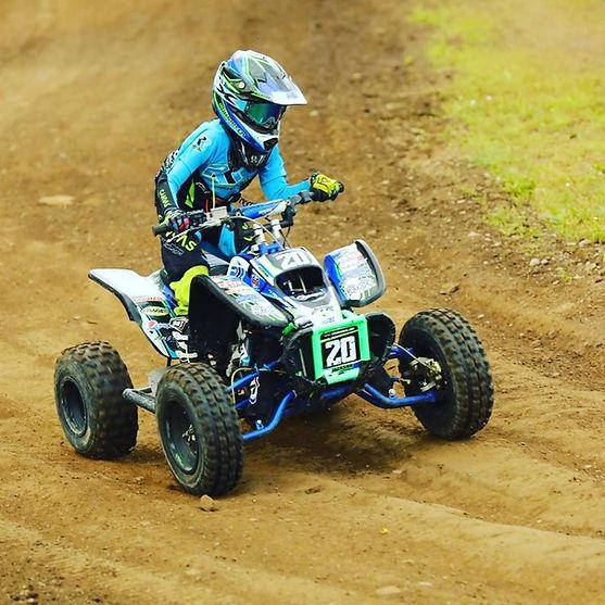 DRR USA 90cc racing ATV