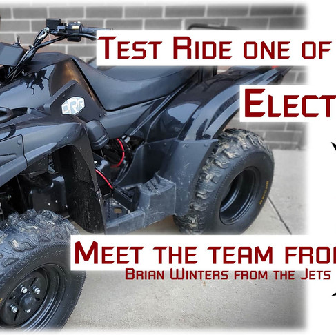It's Electric Extravaganza! Electric ATV Test Drive Day