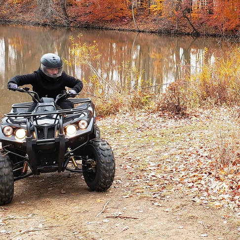 Electric ATV makes for stealthy search and rescue operations