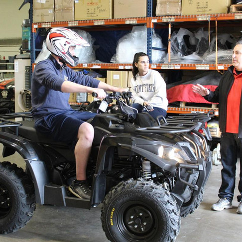Local business innovates first electric ATV for adults