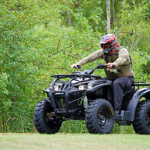 ATV Prototype Made for Stealth Mode for Search and Rescue