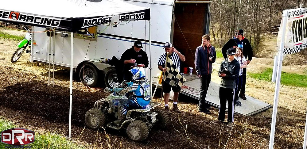 DRR USA DRX ATV Four Wheeler Mini Youth Quad Contingency photo