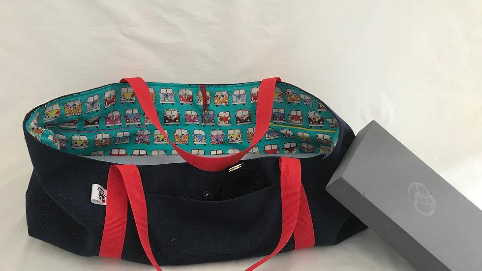Navy Yoga Kit Bag